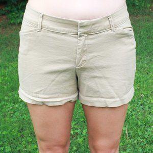 Old Navy Pixie Khaki Shorts